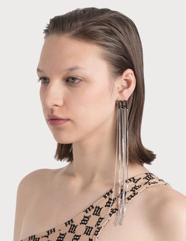 Misbhv M Chain Earring