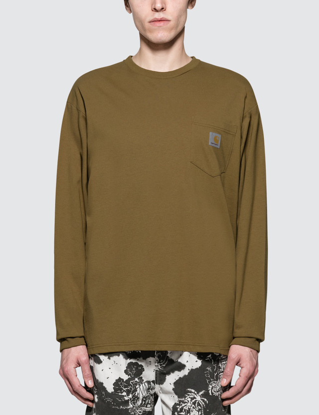 Carhartt Work In Progress Pocket L/S Loose T-Shirt