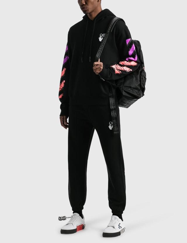 Off-White Marker Slim Hoodie Black Men