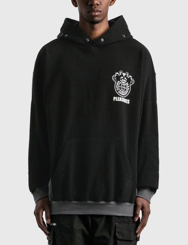 LMC LMC X Pleasures Saint Technical Oversized Hoodie