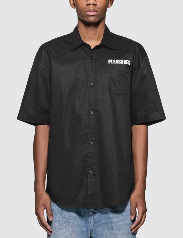 Pleasures Transformer Button-Up Shirt
