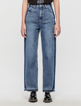 Andersson Bell Sevigny Wide Leg Crop Jeans
