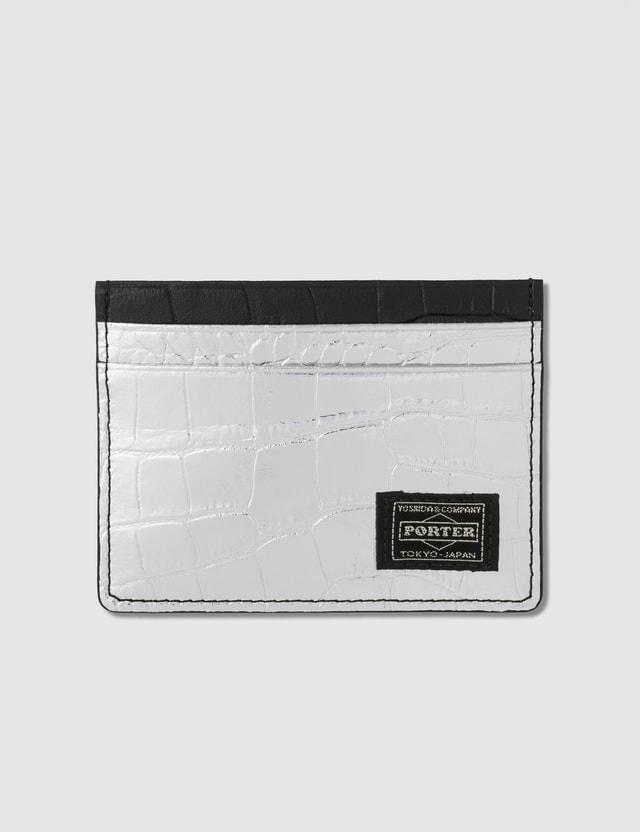 Head Porter Croco Pass Case