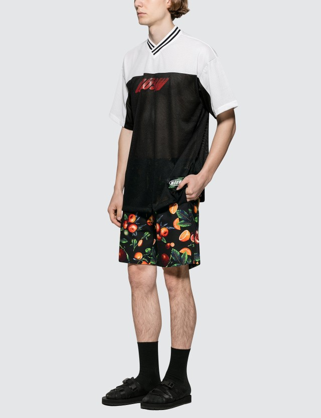MSGM Orchard Print Shorts