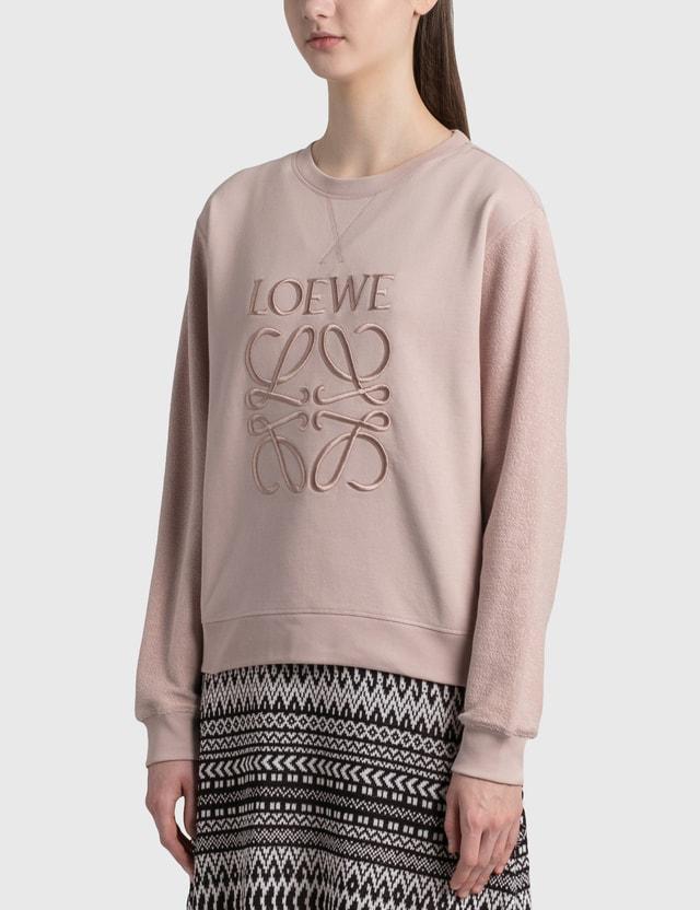 Loewe Anagram Sweatshirt Pale Salmon Women