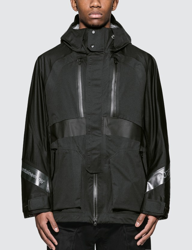 White Mountaineering Gore-tex Contrasted Mountain Parka