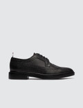 Thom Browne Classic Longwing Brogue W/ Lightweight Rubber Sole In Pebble Grain Picture
