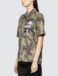 Burberry Monogram Short Sleeve Zip Shirt