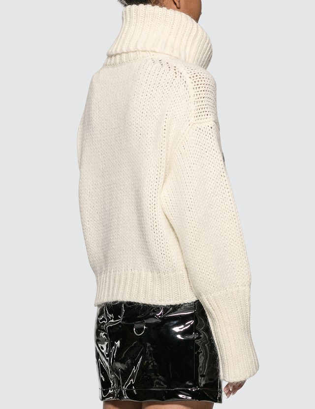 Moncler Roll Neck Knitted Sweater