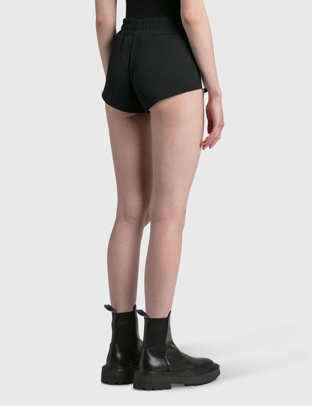 Palm Angels Track Hot Shorts Black Women