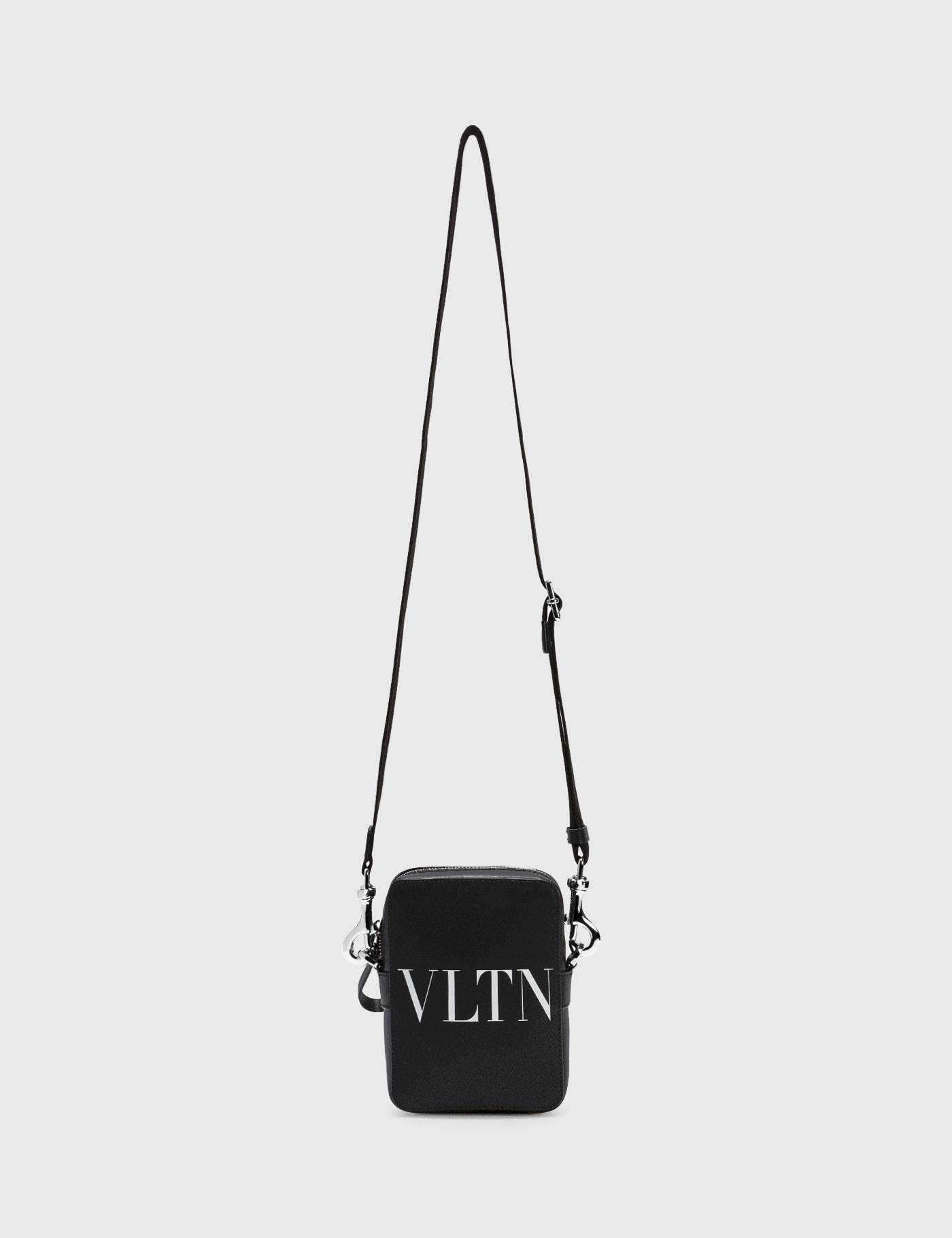 Valentino GARAVANI SMALL VLTN LEATHER CROSSBODY BAG