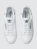 Adidas Originals Continental 80 White/scarlet/collegiate Navy Men