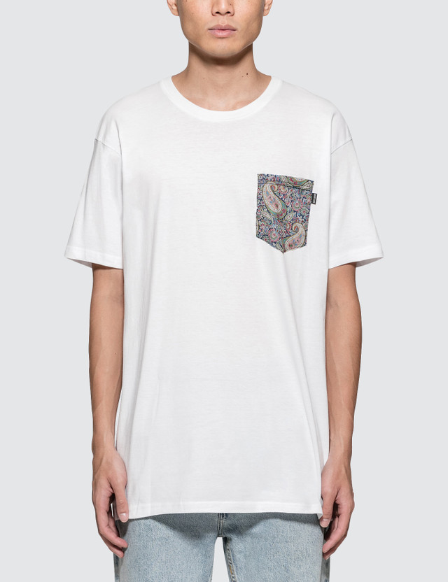 The Quiet Life Liberty Paisley Pocket S/S T-Shirt