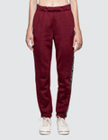 Alexander Wang.T Sleek French Terry Pull-On Track Pant with Logo Tape 사진