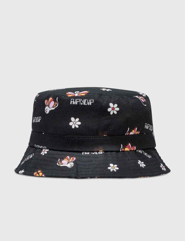 RIPNDIP Butterfly Bucket Hat Black Men