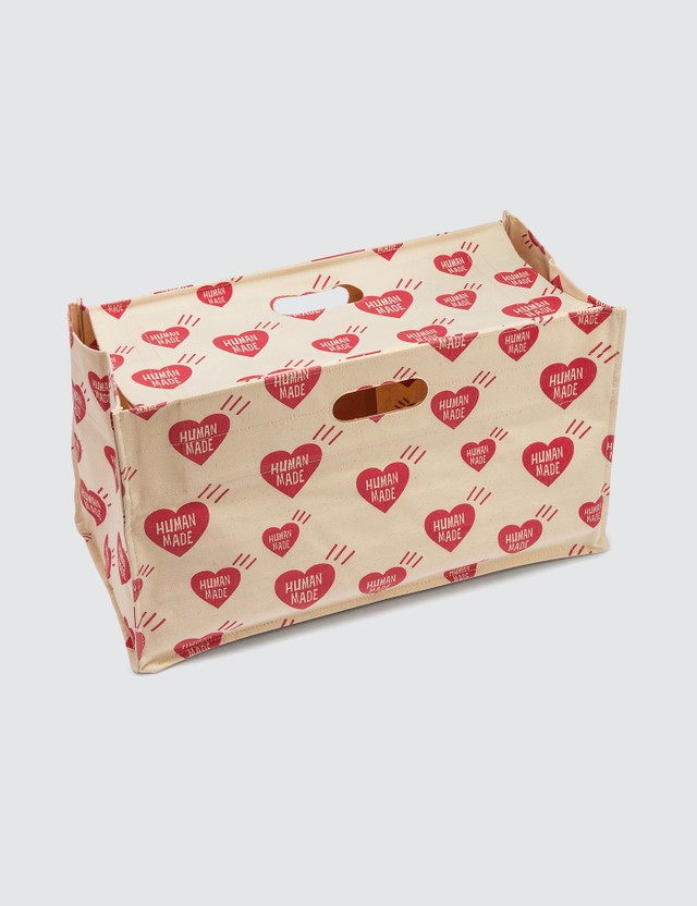Human Made Heart Box Tote Bag