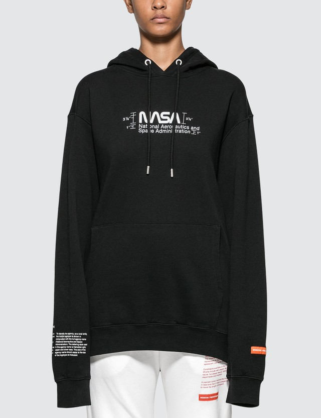 Heron Preston NASA Manual Hoodie Black Women