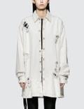 Unravel Project Washout Oversize Denim Shirt Picutre