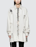 Unravel Project Washout Oversize Denim Shirt Picture