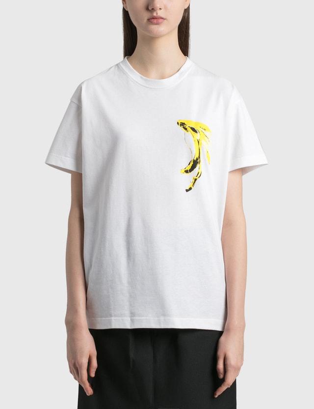 Random Identities Banana T-Shirt White Women