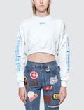 GCDS Wet Crop Sweatshirt Picture