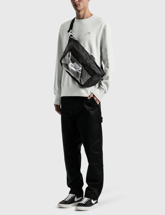 Nike Nike Fleece Classic Crewneck Photon Dust/white Men