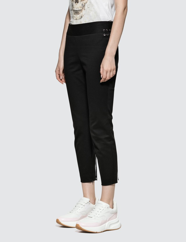 Alexander McQueen Lace-up Details Trousers