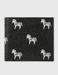 Thom Browne Zebra Print Billfold Wallet Picutre