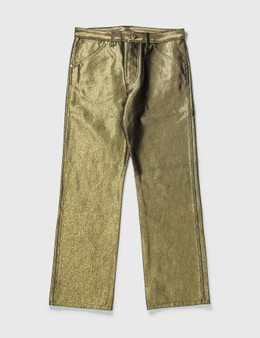 Louis Vuitton Louis Vuittion Gold Pant
