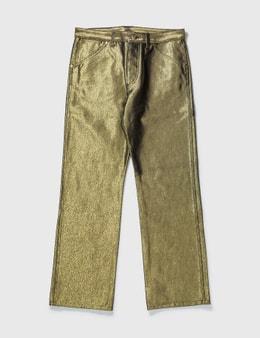 Louis Vuitton Louis Vuittion Gold Pant