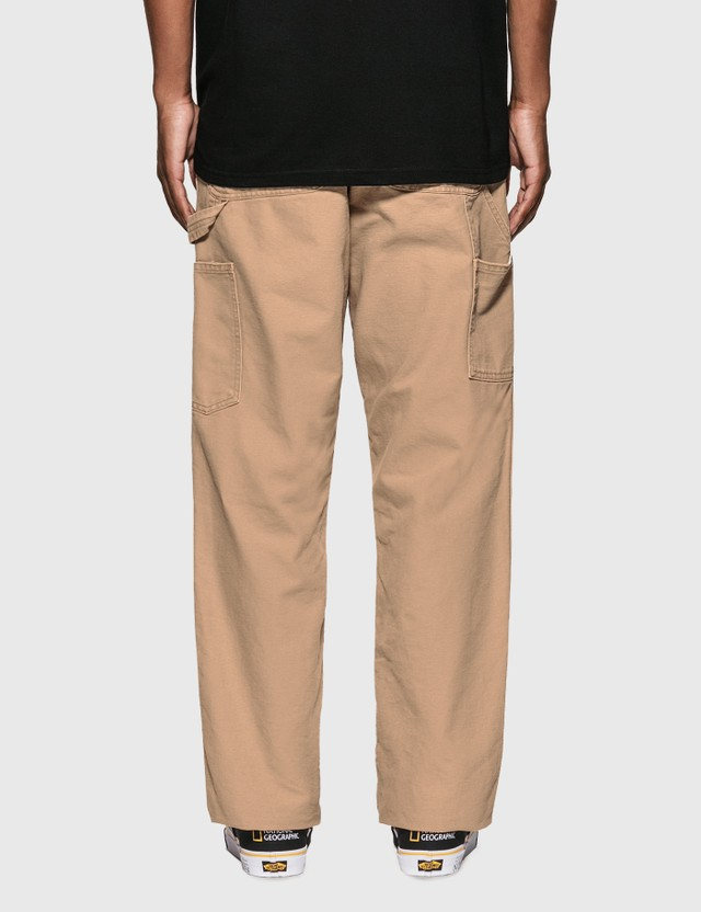 Carhartt Work In Progress Double Knee Pants Dusty H Brown Men