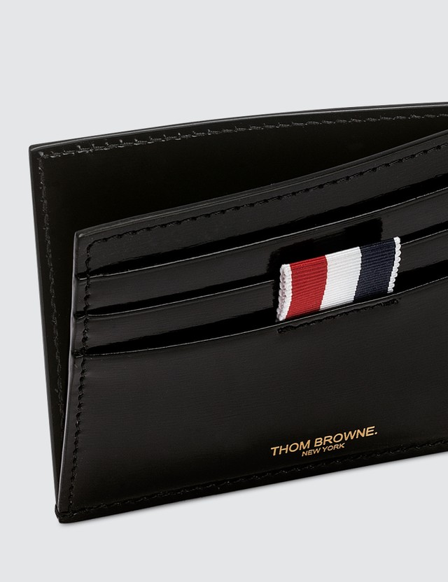 Thom Browne Calf Leather Card Holder