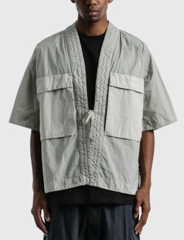 Nemen Short Sleece Cargo Kimono