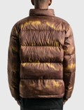 Stussy Aurora Puffer Jacket Brown Men