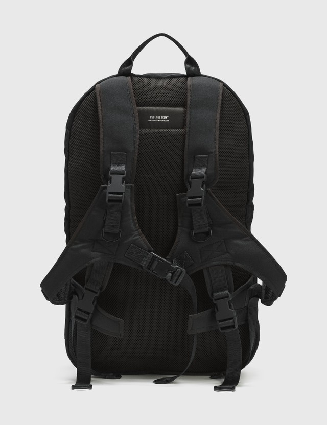 Tobias Birk Nielsen Tech Backpack With Front Bags Black Men
