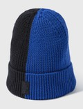 Marcelo Burlon Cross Patch Bicolor Beanie Picutre