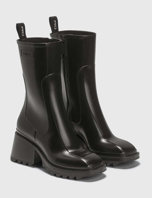Chloé Betty Rain Boots Black Women