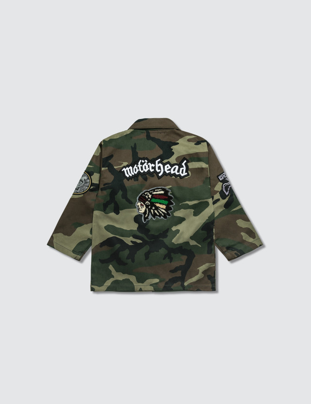 Hey Babe Camo Mash-up Jacket