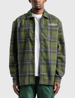 Pleasures Widow Heavyweight Flannel Shirt