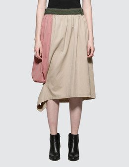 JW Anderson Washed Cut Out Puffball Skirt