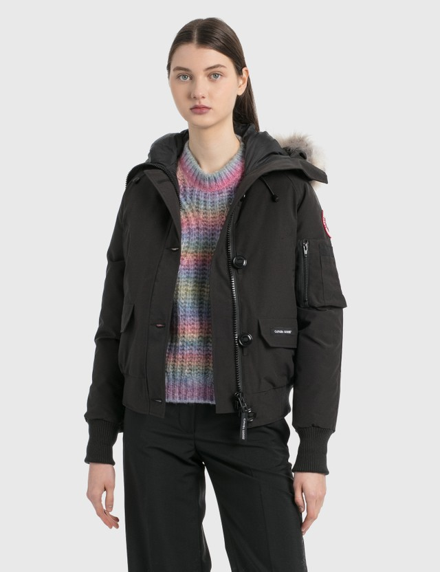 Canada Goose Chilliwack Bomber Jacket Black Women