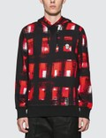 Alexander McQueen Painted Checker Hoodie Picutre
