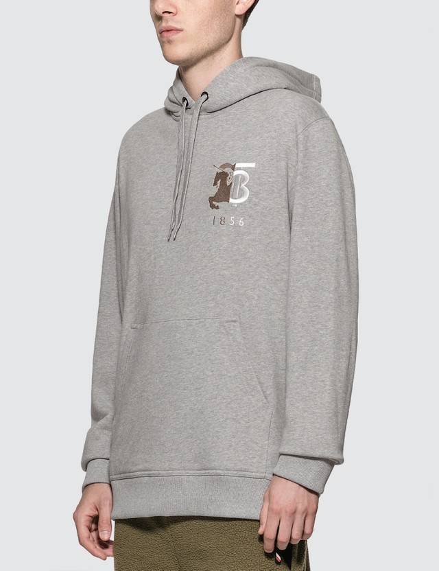 Burberry 1856 Embroidered Logo Hoodie
