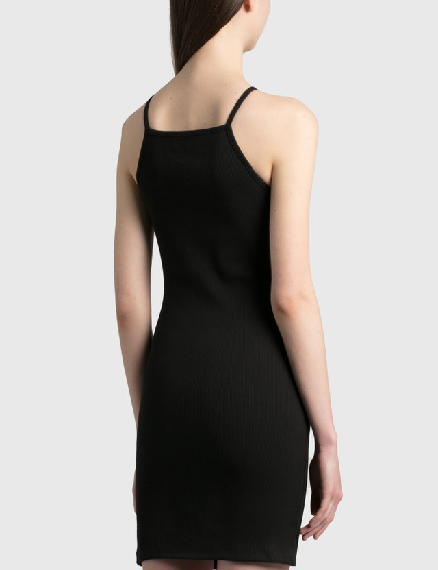 1017 ALYX 9SM Ribbed Tank Dress Black Women
