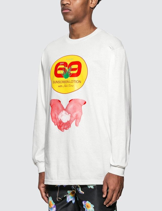 Pleasures Aloe Vera Long Sleeve T-Shirt