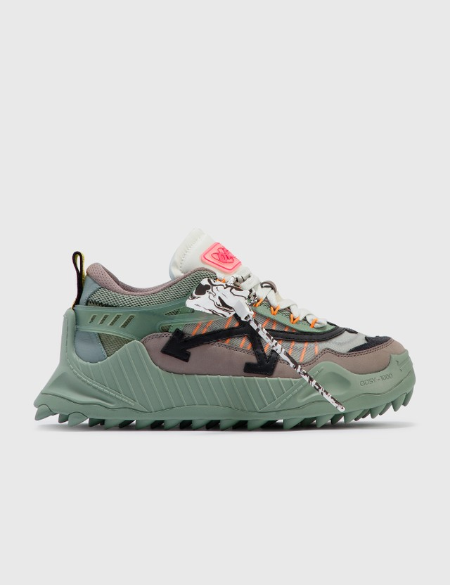 Off-White ODSY-1000 Sneakers Green Men