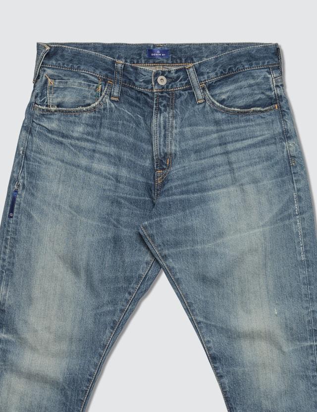 Denim By Vanquish & Fragment Three Years Wash Ankle Cut Denim Jeans