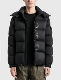 Moncler Big Logo Maures Ciubbotoo Down Fill Jacket Picutre