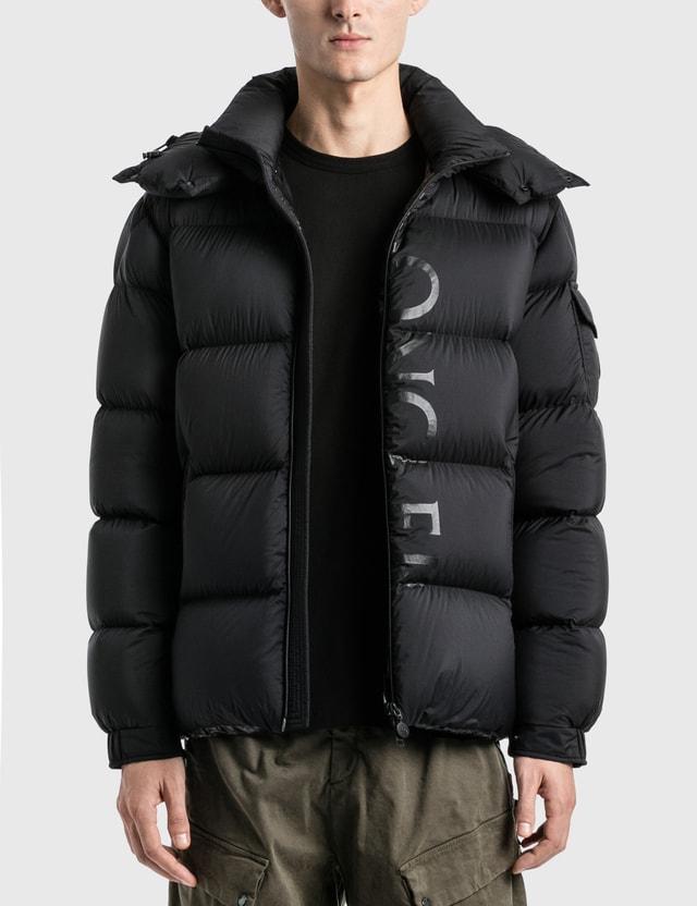 Moncler Big Logo Maures Ciubbotoo Down Fill Jacket