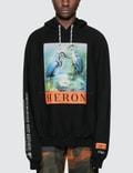 Heron Preston KK Herons Raglan Hooded Sweatshirt Picture
